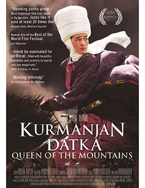 Affiche du film Kurmanjan Datka - Queen of the Mountains
